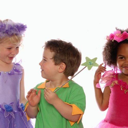 Purple Fairy Pink Fairy & Elf